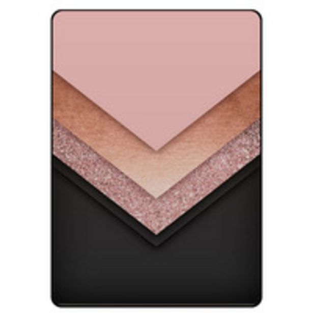 Theodor Protective Flip Case Cover For Samsung Galaxy Tab A 8.4 inches Black Golden & Pink offer at 69 Dhs