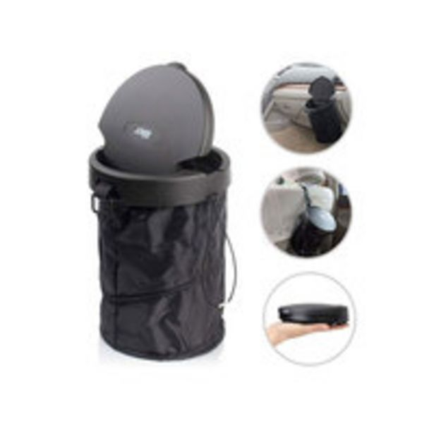 Generic-CK645 Car Trash Can Portable Car Garbage Bin offer at 20,58 Dhs