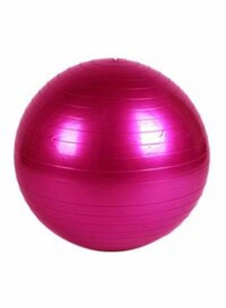 Toeon Yoga Swiss Ball - 78Cm 78cm offer at 55 Dhs