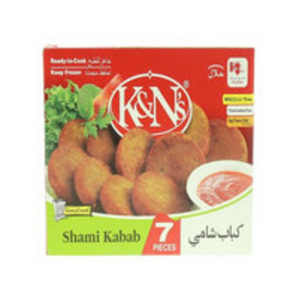 K&N's Chicken Shami Kabab 595g offers at 27,85 Dhs