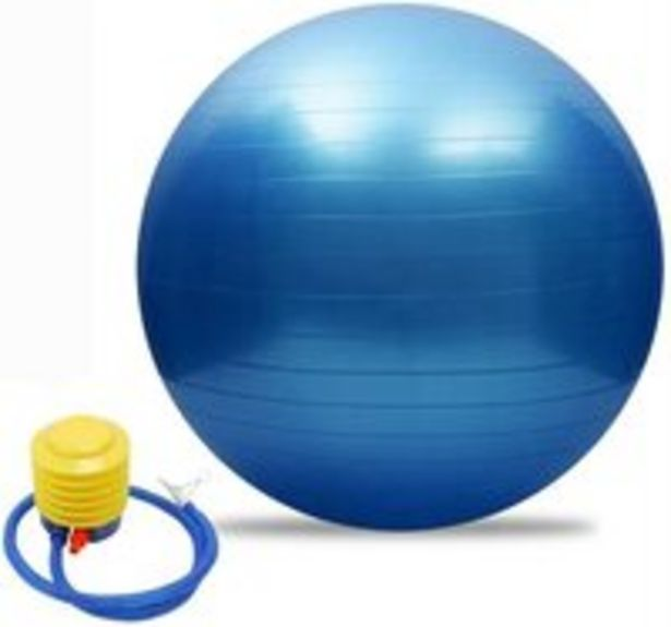 Yoga Ball- Blue offer at 31 Dhs