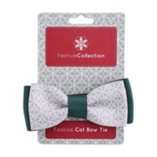 Pet Brands Festive Collection Festive Cat Bow Tie offer at 42 Dhs
