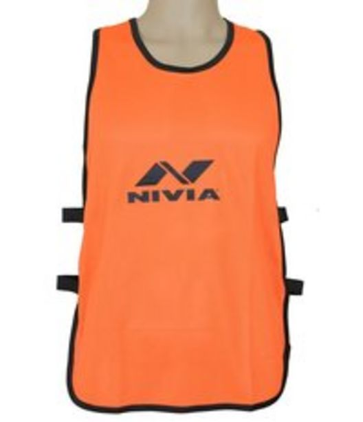 NIVIA TRAINING BIBS FOR PLAYERS ORANGE S offer at 25 Dhs