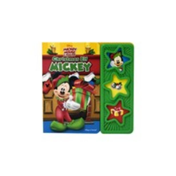 Disney Mickey Mouse & Friends: Christmas Elf Mickey Sound Book offer at 65 Dhs