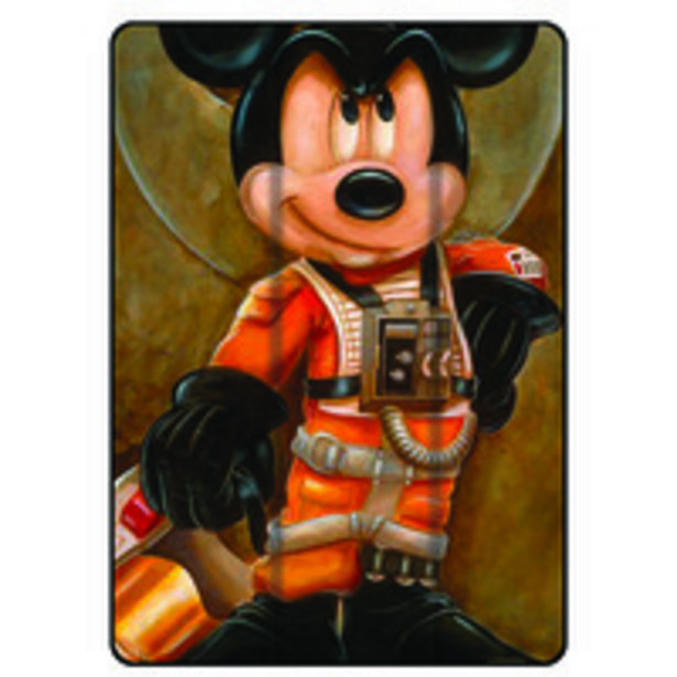 Theodor Protective Flip Case Cover For Apple iPad 6th Gen 9.7 inches Mickey Mouse offer at 69 Dhs