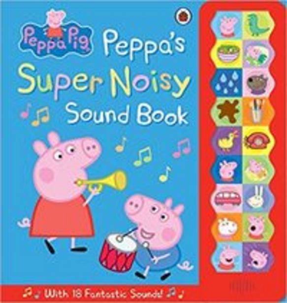 Peppa Pig Peppa Pig: Peppa's Super Noisy Sound Book - Hardcover – 24 September 2014 offer at 88 Dhs