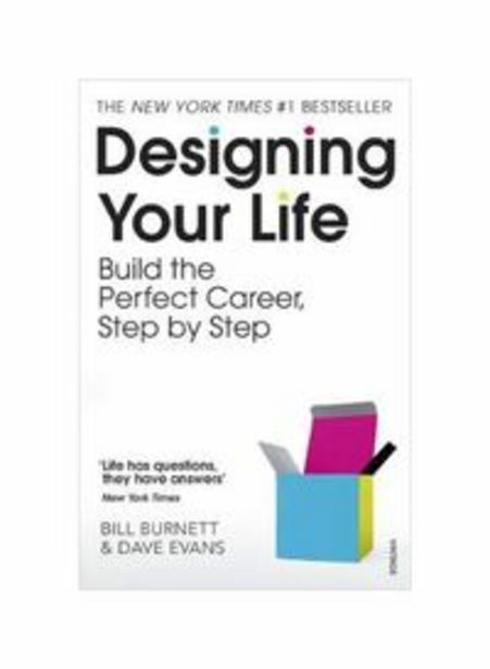 Generic - Designing Your Life: Build The Perfect Career Step By Step Paperback offer at 62,15 Dhs