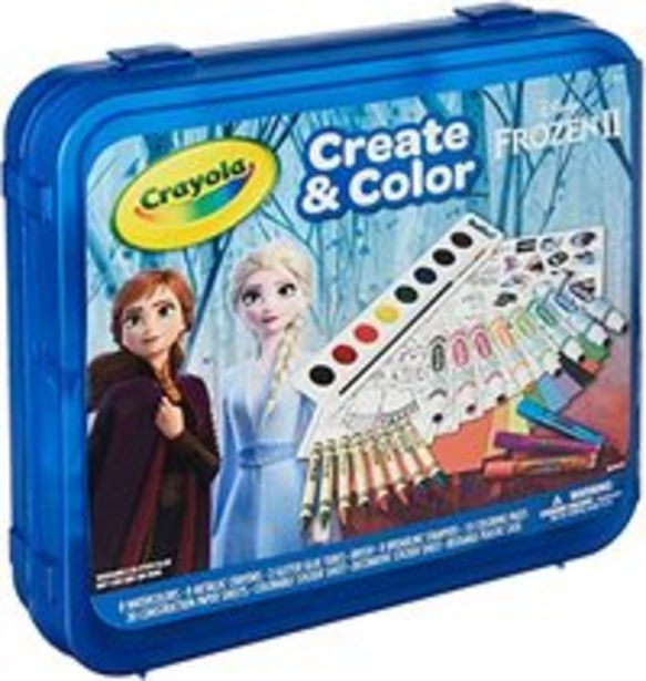CRAYOLA Frozen 2 - Create & Color offer at 129 Dhs