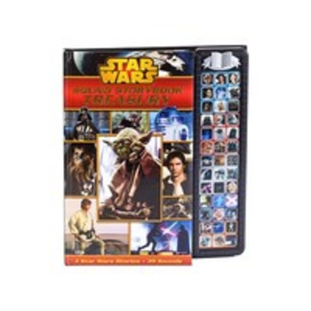 Disney Star Wars Sound Storybook Treasury 3 Stories 39 Sounds offer at 85 Dhs