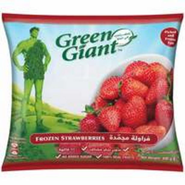 Green Giant Frozen Strawberry 400g offer at 14,15 Dhs