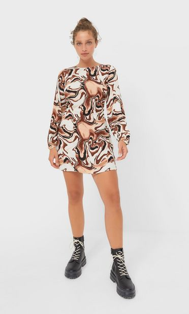 Short printed dress offers at 189 Dhs