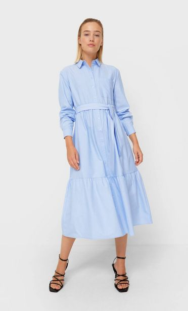 Oxford midi dress offers at 179 Dhs