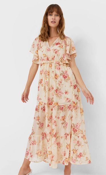 Long floral dress offers at 189 Dhs