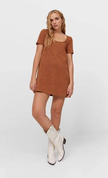 Short jacquard dress offers at 149 Dhs