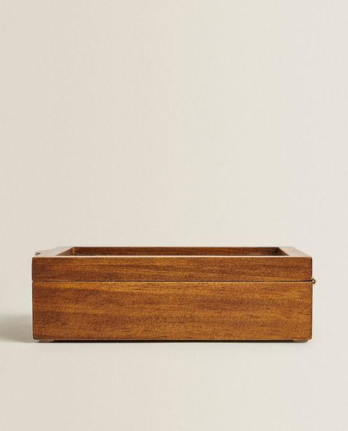 Wooden And Linen Jewellery Box offers at 159 Dhs