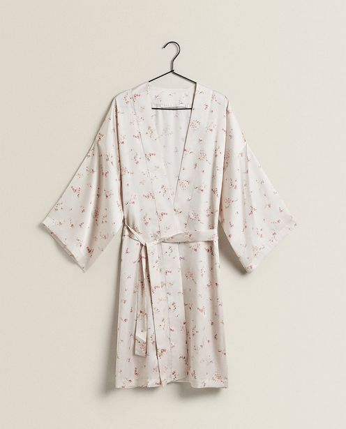Pink Floral Dressing Gown offers at 429 Dhs