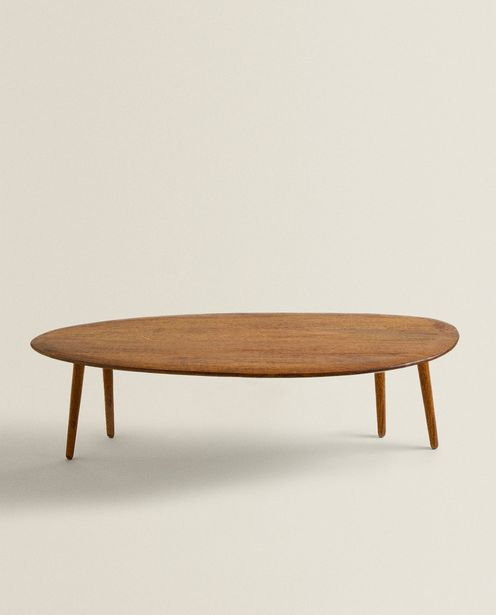 Beveled Wooden Table offers at 899 Dhs