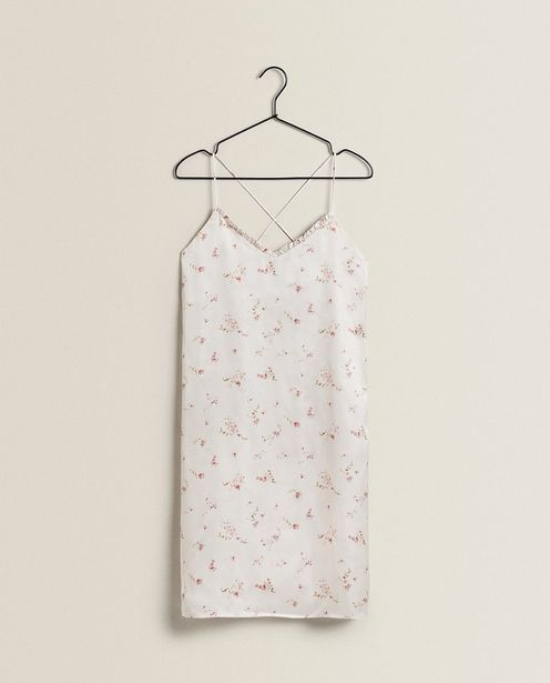 Pink Floral Nightdress offers at 199 Dhs