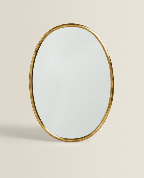 Oval Metal Mirror offers at 699 Dhs