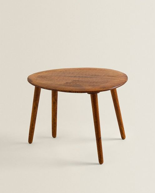 Beveled Wooden Table offers at 349 Dhs