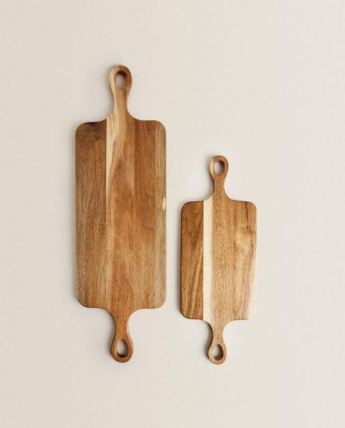 Acacia Wood Kitchen Chopping Board offers at 159 Dhs