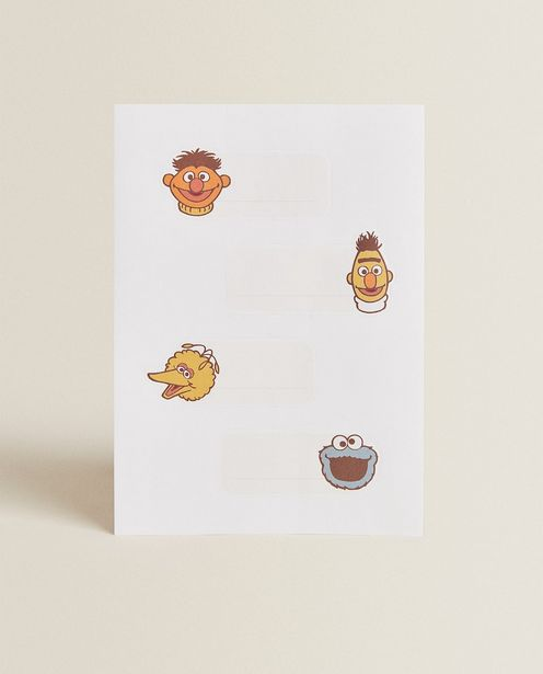 Sesame Street Labels (Pack Of 12) offers at 49 Dhs