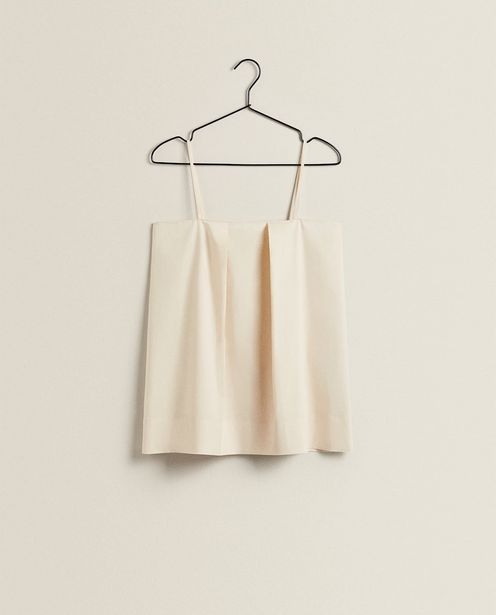 Pleated Cotton Top offers at 159 Dhs