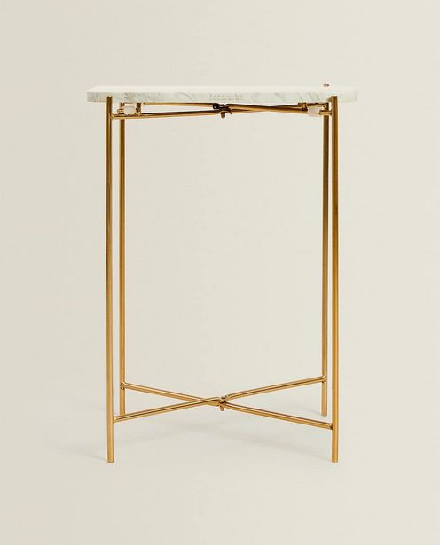 Marble Side Table offers at 499 Dhs