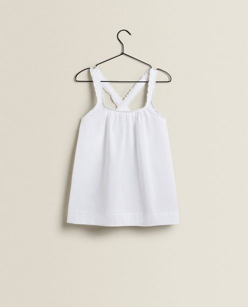 Ruffled Cotton Top offers at 189 Dhs