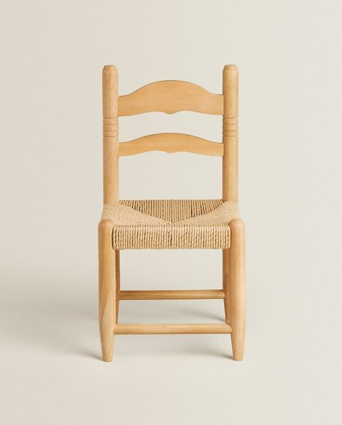 Children's Chair With Braided Seat offers at 299 Dhs